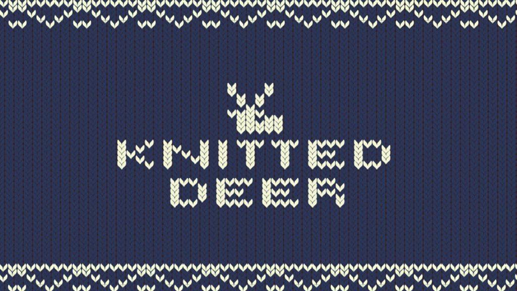 Knitted Deer